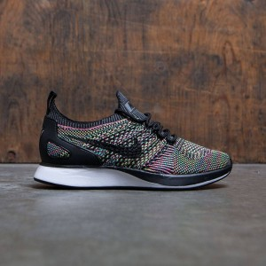 Nike Women Air Zoom Mariah Flyknit Racer (white / black-volt-chlorine blue)