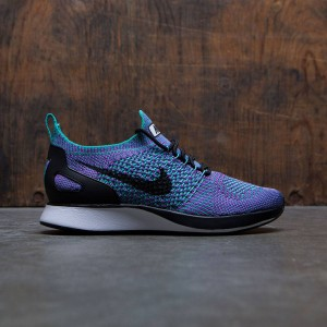 Nike Women Air Zoom Mariah Flyknit Racer (clear jade / black-vivid purple-white)