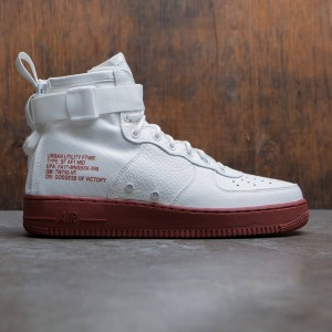Nike Men Sf Air Force 1 Mid (ivory / ivory-mars stone)