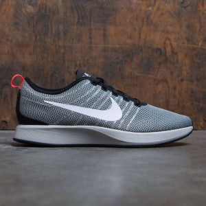 Nike Men Dualtone Racer (black / white-pale grey-solar red)