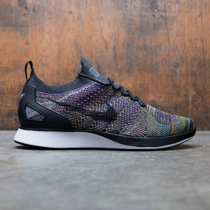 Nike Men Air Zoom Mariah Flyknit Racer (black / black-vivid purple-bright citron)
