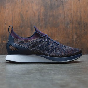 Nike Men Air Zoom Mariah Flyknit Racer (navy / college navy / bordeaux-desert moss-black)