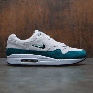 Nike Men Air Max 1 Premium Sc (light bone / dk atomic teal-white-black)