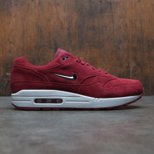 Nike Men Air Max 1 Premium Sc (red / team red / mtlc dark grey-dark grey)