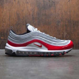 Nike Men Air Max 97 (pure platinum / university red-black-white)