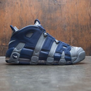 Nike Men Air More Uptempo 96 (cool grey / white-midnight navy)