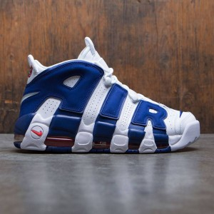 Nike Men Air More Uptempo '96 (white / deep royal blue-team orange)