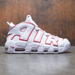 Nike Men Air More Uptempo '96 (white / varsity red-white)