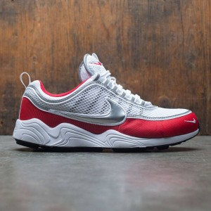 Nike Men Air Zoom Spiridon '16 (white / metallic silver-university red)