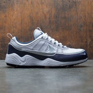 Nike Men Air Zoom Spiridon '16 (white / metallic silver-armory navy-black)