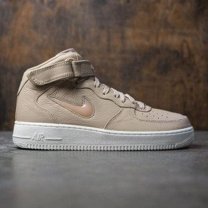 Nike Men Air Force 1 Mid Retro Prm (mushroom / mushroom-sail)