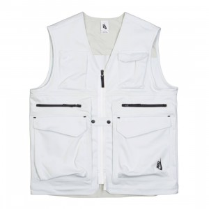 NikeLab Men Collection Utility Vest (off white / light bone / black)