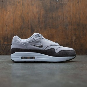 Nike Women Air Max 1 Premium Sc (grey / wolf grey / mtlc pewter-deep pewter-white)
