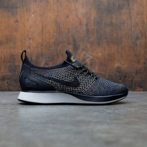 Nike Women Air Zoom Mariah Flyknit Racer (black / black-summit white-desert moss)