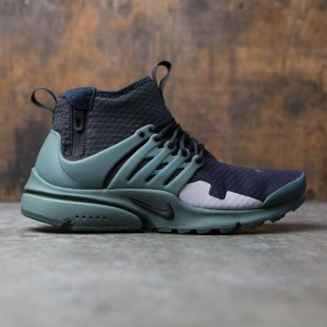 Nike Men Air Presto Mid Sp (black / vintage green-flt silver)