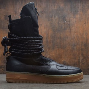 Nike Men Sf Air Force 1 Hi Boot (black / black-gum med brown)