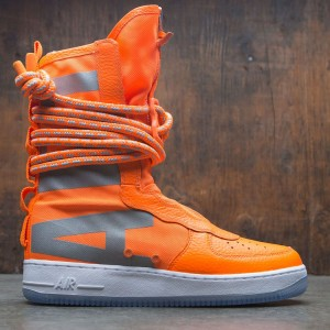 Nike Men Sf Air Force 1 Hi Boot (total orange / total orange-white)