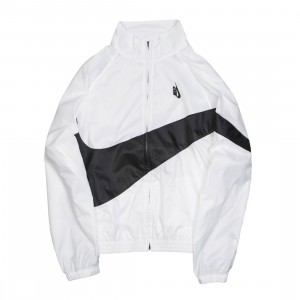 NikeLab Men Heritage Jacket (white / black / black)