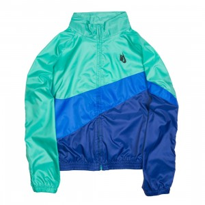 NikeLab Men Heritage Jacket (kinetic green / hyper cobalt / black)