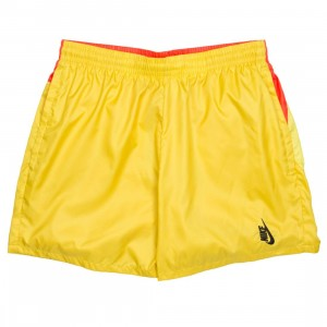 NikeLab Men Heritage Shorts (vivid sulfur / dynamic yellow / black)