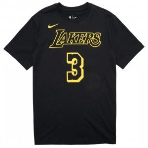 Nike Men Nba Tee - Anthony Davis Lakers (black / davis anthony)
