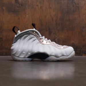 Nike Women Air Foamposite 1 (summit white / summit white-oil grey)