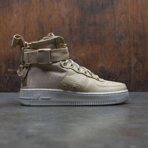 Nike Women Sf Air Force 1 Mid (tan / mushroom-light bone)