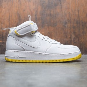Nike Men Air Force 1 Mid '07 Canvas (desert sand / desert sand-vivid sulfur)