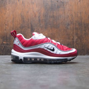 Nike Women Air Max 98 (white / black-gym red-reflect silver)