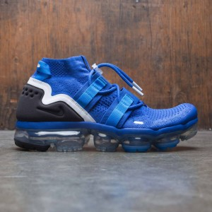 Nike Men Air Vapormax Flyknit Utility (game royal / black-photo blue-summit white)