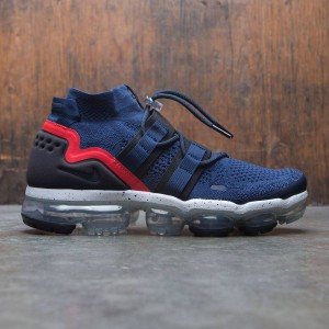 Nike Men Air Vapormax Fk Utility (college navy / black-habanero red)