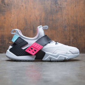 Nike Men Air Huarache Drift Premium (pure platinum / black-racer pink)