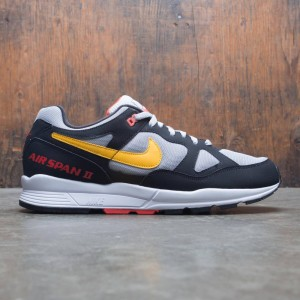 Nike Men Air Span Ii (black / yellow ochre-wolf grey)