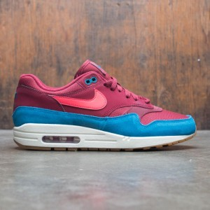 Nike Men Air Max 1 (team red / red orbit-green abyss-white)