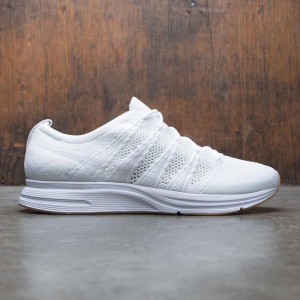 Nike Men Flyknit Trainer (white / white-white-gum light brown)
