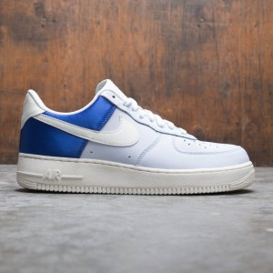 Nike Men Air Force 1 07 Qs Baseball Opening Day (game royal / sail-football grey)
