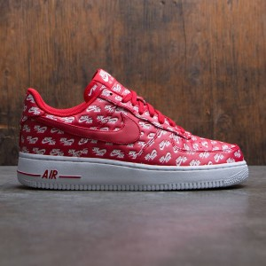 Nike Men Air Force 1 07 Qs (red / university red-white)