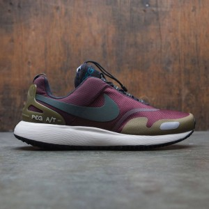 Nike Men Air Pegasus A / T Pinnacle (burgundy / deep burgundy / outdoor green-hazel rush)