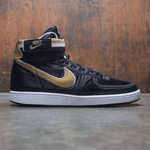 Nike Men Vandal High Supreme (black / metallic gold-white)