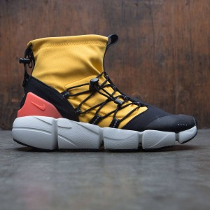 Nike Men Air Footscape Mid Utility Dm (university gold / shadow brown-black)