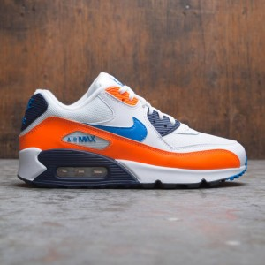 Nike Men Air Max '90 Essential (white / photo blue-total orange)