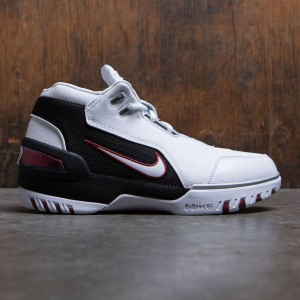 Nike Men Air Zoom Generation Qs (white / white-black-varsity crimson)