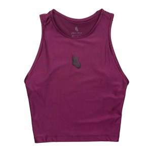 NikeLab Women Collection Cropped Tank Top (bordeaux)