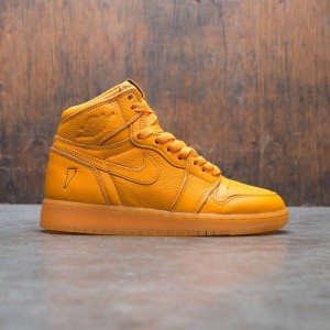 Air Jordan 1 Retro High OG (GS) Big Kids (orange / orange peel)