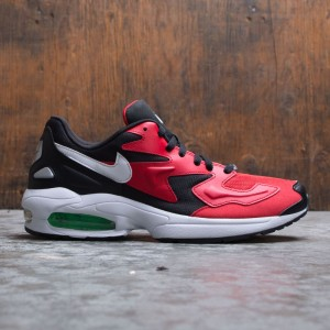 Nike Men Air Max2 Light (black / white-university red-electro green)