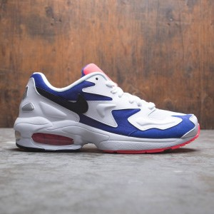 Nike Men Air Max2 Light (white / black-ultramarine-solar red)
