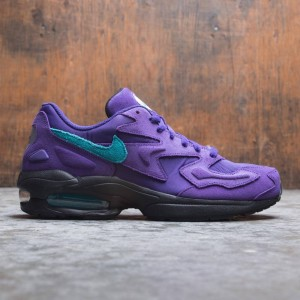 Nike Men Air Max2 Light (court purple / spirit teal-black-white)