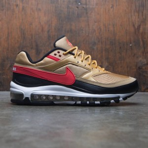 Nike Men Air Max 97 / Bw (metallic gold / university red-white-black)