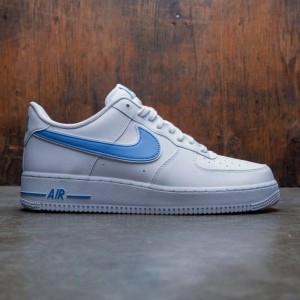Nike Men Air Force 1 '07 3 (white / university blue)