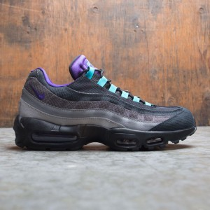Nike Men Air Max 95 Lv8 (black / court purple-teal nebula)